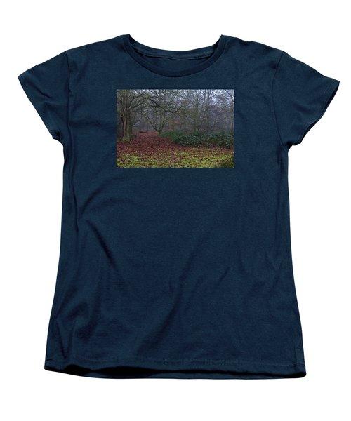 Women's T-Shirt (Standard Cut) featuring the photograph Plantation Leaves by Maj Seda