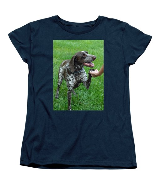Women's T-Shirt (Standard Cut) featuring the photograph Pleased To Meet You by Lisa Phillips