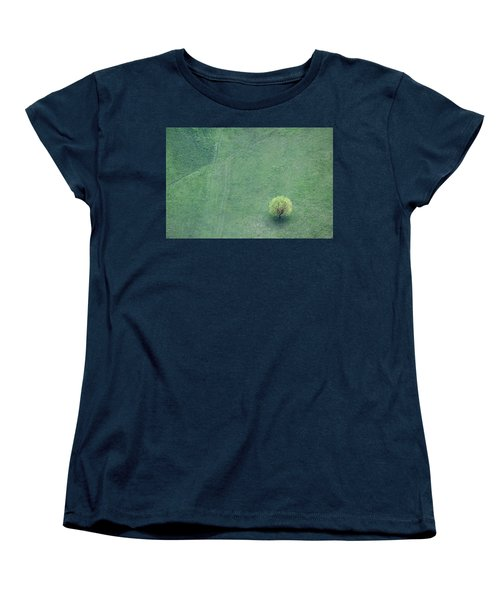 Women's T-Shirt (Standard Cut) featuring the photograph Point In The Plane by Davorin Mance