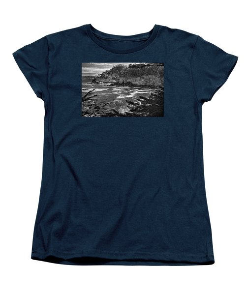Women's T-Shirt (Standard Cut) featuring the photograph Point Lobo  by Ron White