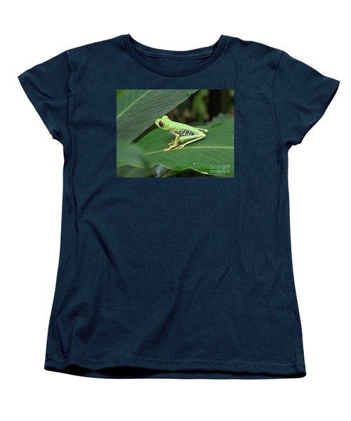 Poison Dart Frog Women's T-Shirt (Standard Cut) by DejaVu Designs