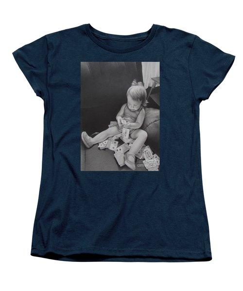 Pokerface Women's T-Shirt (Standard Cut) by Pamela Clements