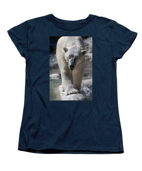 Polar Bear Balance Women's T-Shirt (Standard Cut) by DejaVu Designs