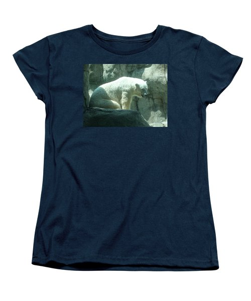Polar Bear Women's T-Shirt (Standard Cut) by Fortunate Findings Shirley Dickerson