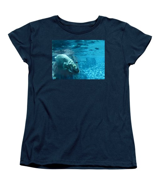 Polar Bear Women's T-Shirt (Standard Cut) by Steve Karol