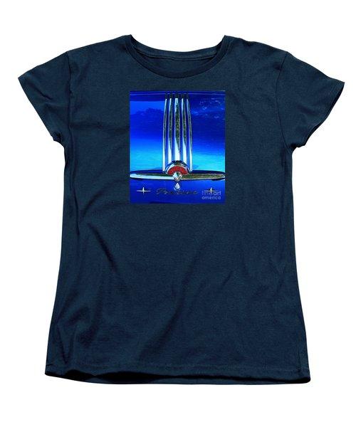 Pontiac Eight Women's T-Shirt (Standard Cut) by Linda Bianic