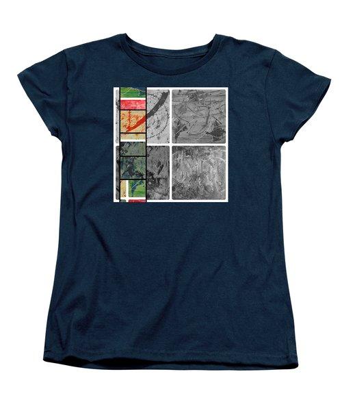 Women's T-Shirt (Standard Cut) featuring the photograph Poor And Rich by Sir Josef - Social Critic - ART