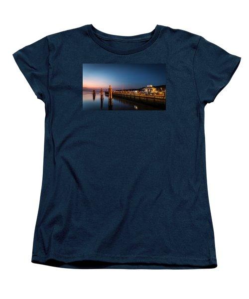 Port Jefferson Women's T-Shirt (Standard Cut) by Mihai Andritoiu