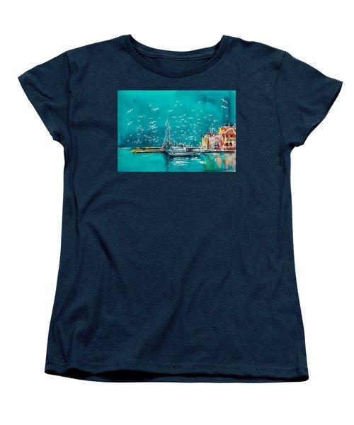 Port Women's T-Shirt (Standard Cut) by Kovacs Anna Brigitta