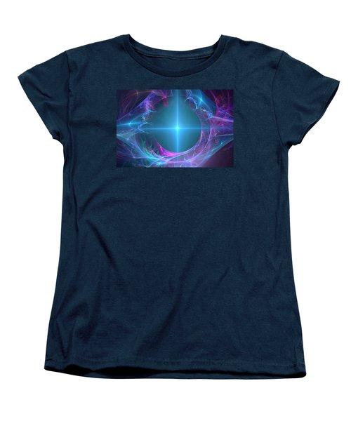Portal To The Unknown Women's T-Shirt (Standard Cut) by Svetlana Nikolova