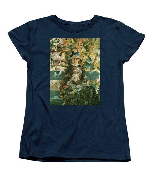 Portrait Of Adele Tapie De Celeyran Women's T-Shirt (Standard Cut) by Henri de Toulouse-Lautrec