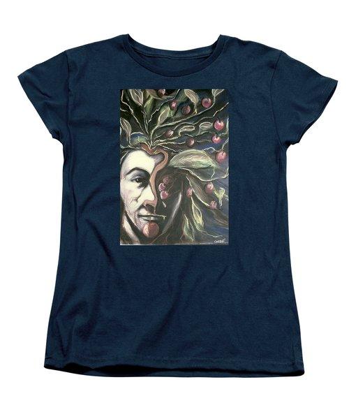 Self Portrait  Women's T-Shirt (Standard Cut) by Carrie Maurer