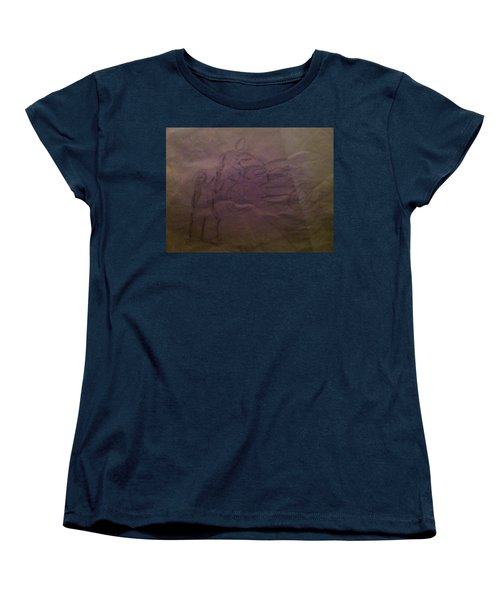 Pose1 Women's T-Shirt (Standard Cut) by Mary Ellen Anderson
