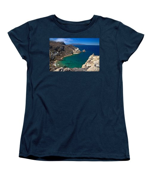 Potato Harbor Views Women's T-Shirt (Standard Cut) by Adam Jewell