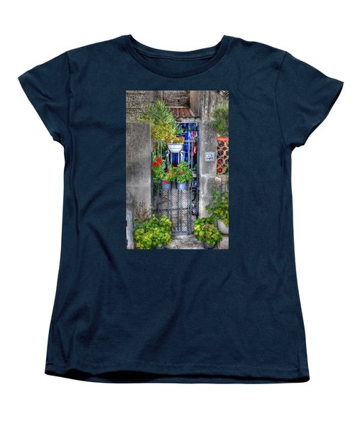 Women's T-Shirt (Standard Cut) featuring the photograph Pots Perouge France by Tom Prendergast