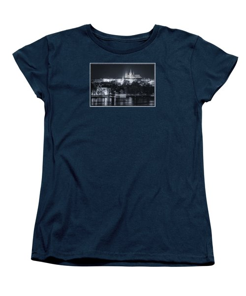 Prague Castle At Night Women's T-Shirt (Standard Cut)