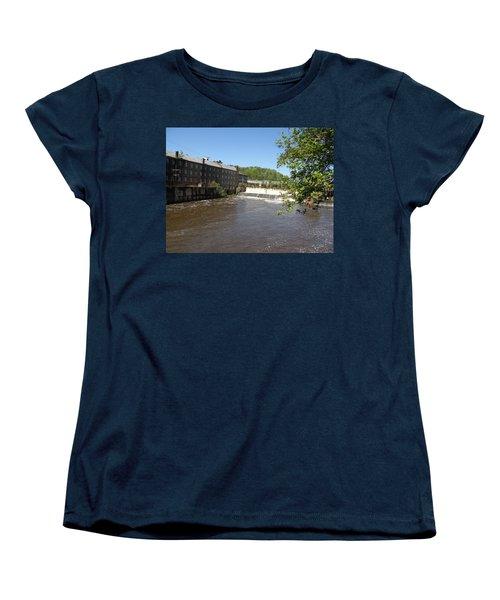 Pratt Cotton Factory Women's T-Shirt (Standard Cut) by Caryl J Bohn