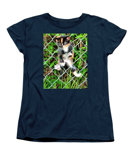 Predicament Women's T-Shirt (Standard Cut) by Steven Reed