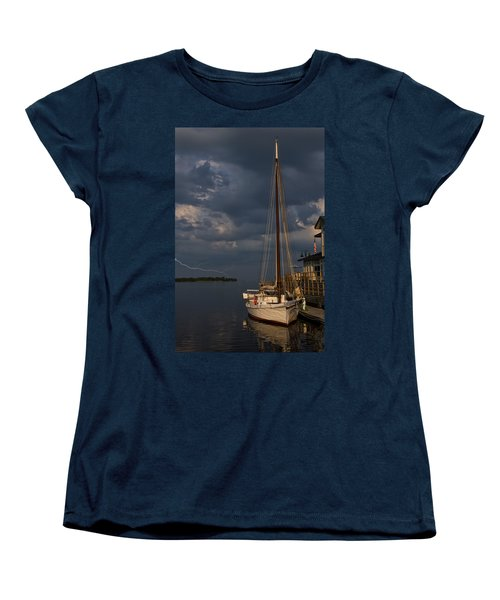 Preparing For The Storm Women's T-Shirt (Standard Cut)