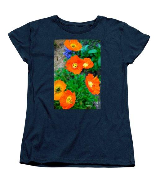 Pretty In Orange Women's T-Shirt (Standard Cut) by Jacqueline Athmann