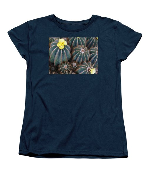 Prickly Beauties Women's T-Shirt (Standard Cut) by Evelyn Tambour