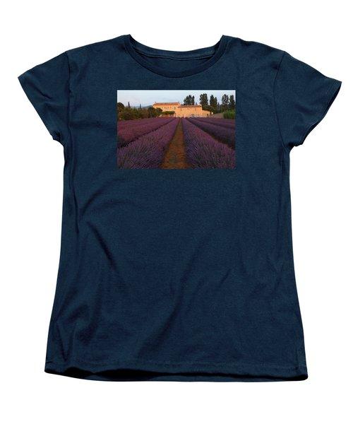 Provencal Villa  Women's T-Shirt (Standard Cut) by Susan Rovira