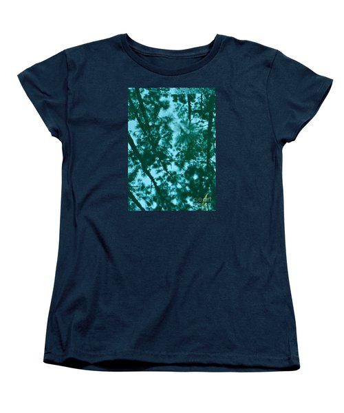 Women's T-Shirt (Standard Cut) featuring the photograph Puddle Of Pines by Joy Hardee