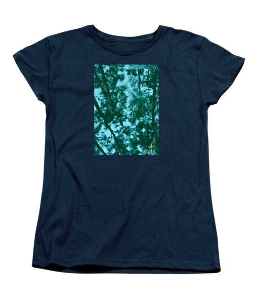 Puddle Of Pines Women's T-Shirt (Standard Cut) by Joy Hardee