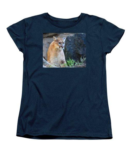 Puma On The Watch Women's T-Shirt (Standard Cut) by John Telfer