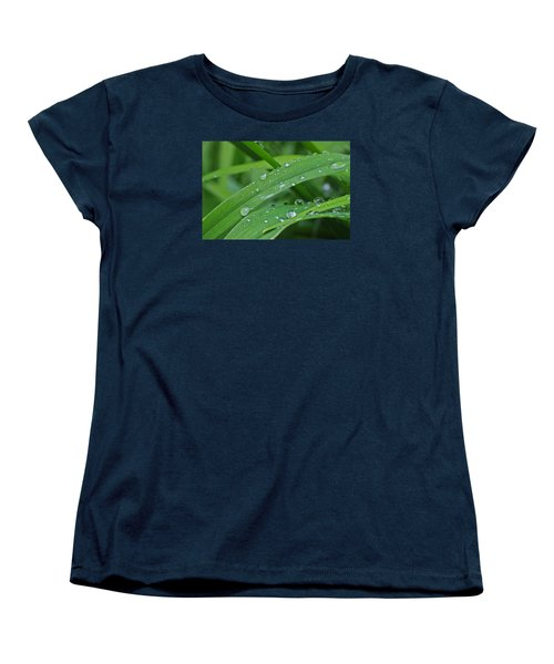 Women's T-Shirt (Standard Cut) featuring the photograph Pure Green by Julie Andel