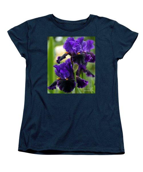 Purple Majesty Women's T-Shirt (Standard Cut) by Lilliana Mendez