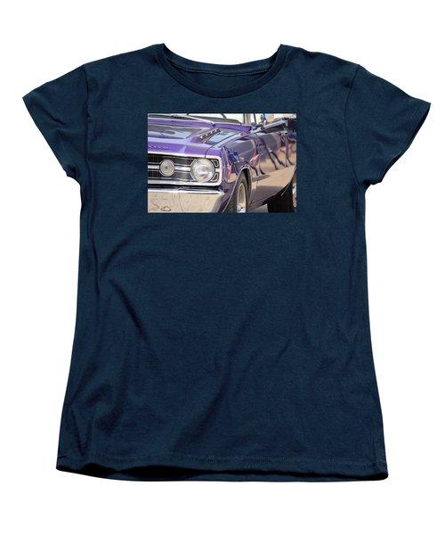 Purple Mopar Women's T-Shirt (Standard Cut) by Bonfire Photography