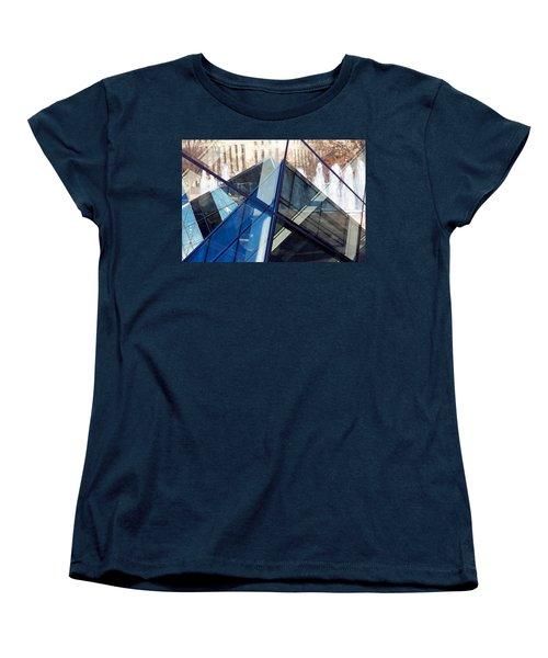 Pyramid Skylights Women's T-Shirt (Standard Cut) by Stuart Litoff