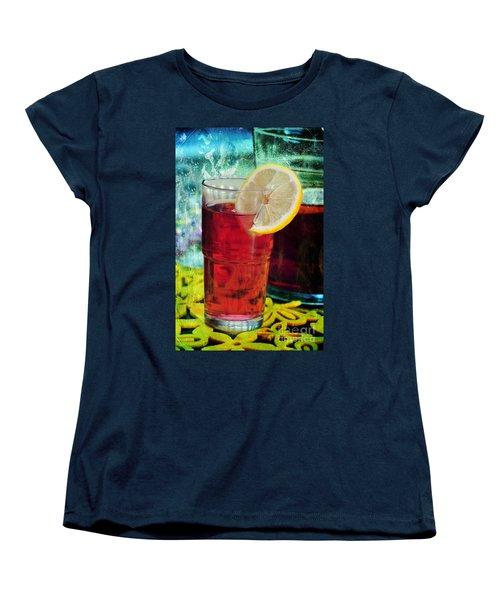 Quench My Thirst Women's T-Shirt (Standard Cut) by Randi Grace Nilsberg