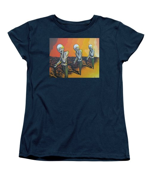 Question To Wonder Women's T-Shirt (Standard Cut) by Michael  TMAD Finney