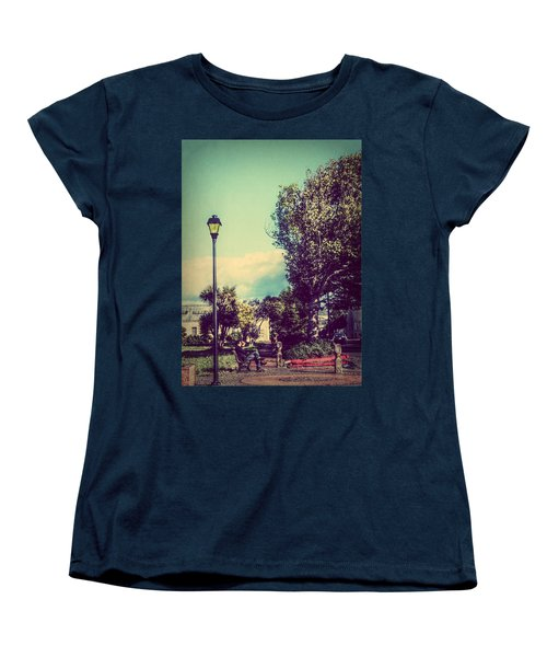 Women's T-Shirt (Standard Cut) featuring the photograph Quiet Reflections by Melanie Lankford Photography