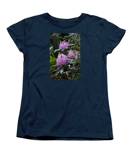 R. Ponticum Variegatum Women's T-Shirt (Standard Cut) by Chris Anderson