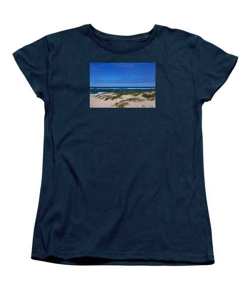 Race Point Beach Women's T-Shirt (Standard Cut) by Catherine Gagne