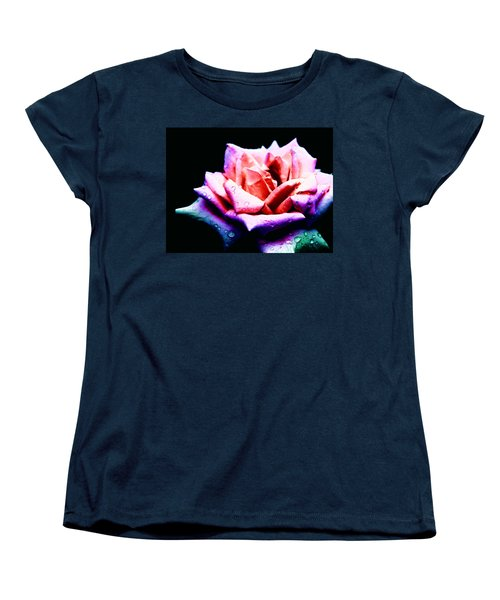 Rachel's Rose Women's T-Shirt (Standard Cut) by Rachel Mirror