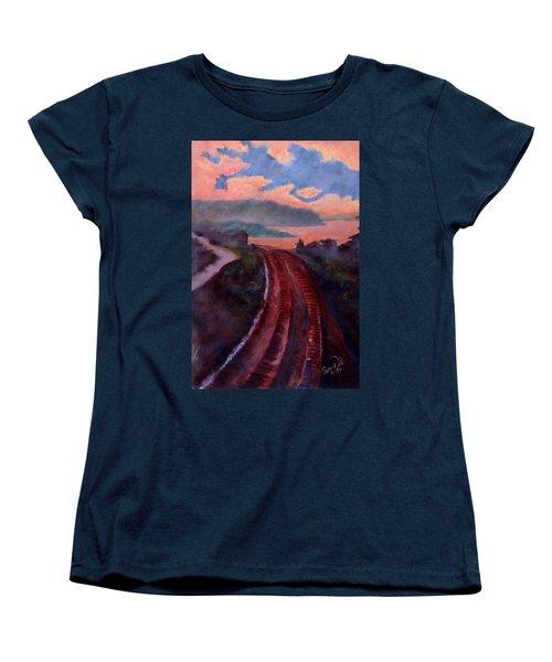Railroad Women's T-Shirt (Standard Cut) by Susan Will