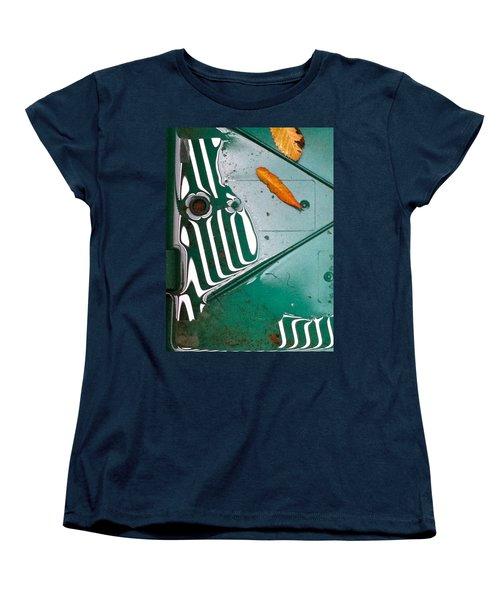 Women's T-Shirt (Standard Cut) featuring the photograph Rain Reflections by Bill Owen