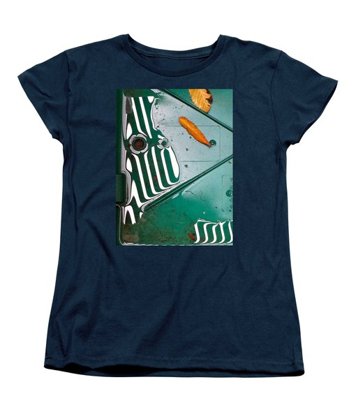 Rain Reflections Women's T-Shirt (Standard Cut) by Bill Owen