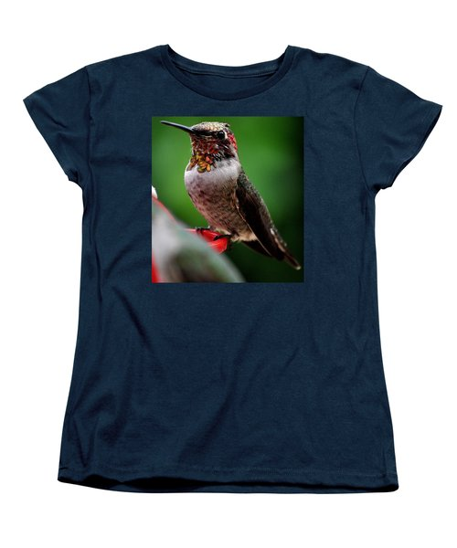 Women's T-Shirt (Standard Cut) featuring the photograph Rainbow Colored Male Anna by Jay Milo