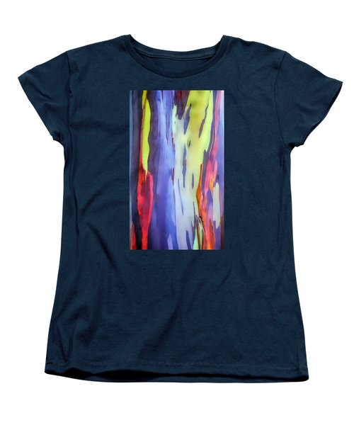 Rainbow Eucalyptus 2 Women's T-Shirt (Standard Cut) by Dawn Eshelman