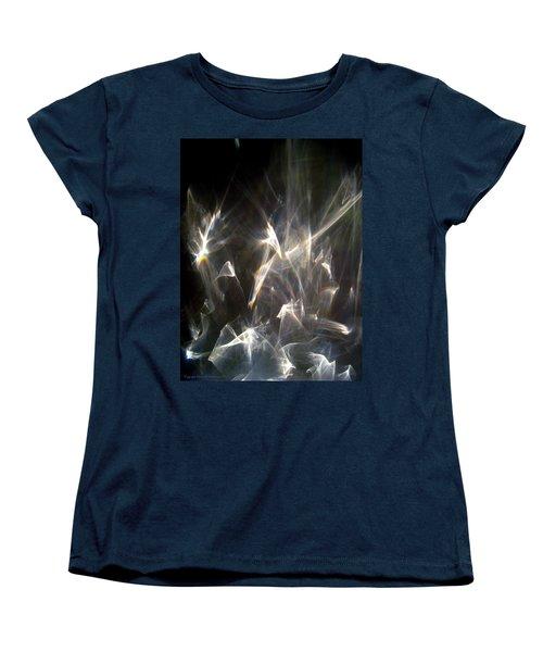 Women's T-Shirt (Standard Cut) featuring the photograph Rainbow Pieces by Leena Pekkalainen