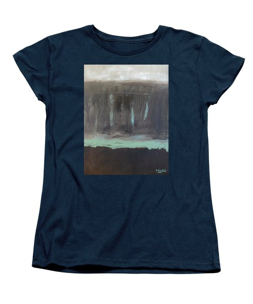 Rainy Day Women's T-Shirt (Standard Cut) by Claudia Goodell