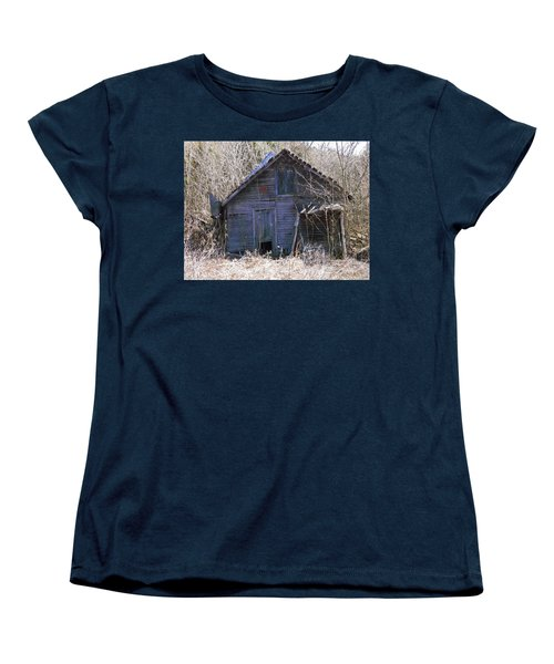 Women's T-Shirt (Standard Cut) featuring the photograph Ramshackled by Nick Kirby