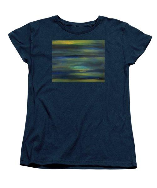 Rangeley Women's T-Shirt (Standard Cut) by Dick Bourgault
