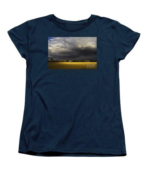 Rapefield Under Dark Sky Women's T-Shirt (Standard Cut) by Heiko Koehrer-Wagner