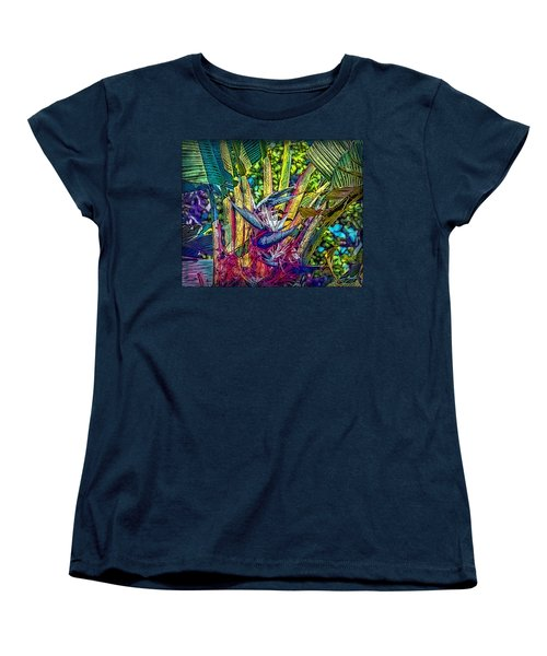 Ravenala Women's T-Shirt (Standard Cut) by Hanny Heim